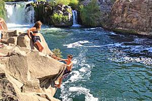 Chockstone Climbing Guides | Climbing & Water Fun