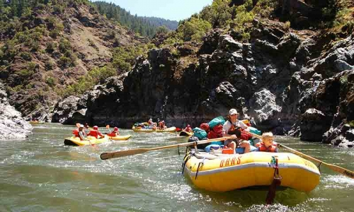 Oars White Water Rafting Bend Oregon