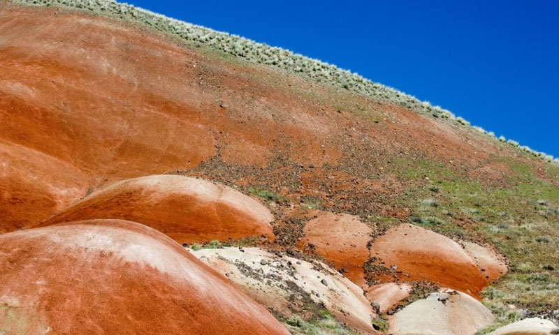 Painted Hills in the John Day Fossil Monument