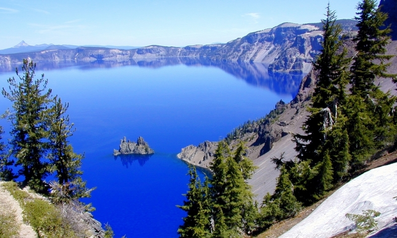 Crater Lake National Park Oregon Central Bend