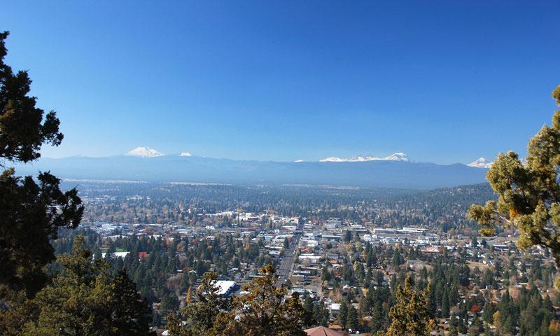 Overlooking Bend Oregon