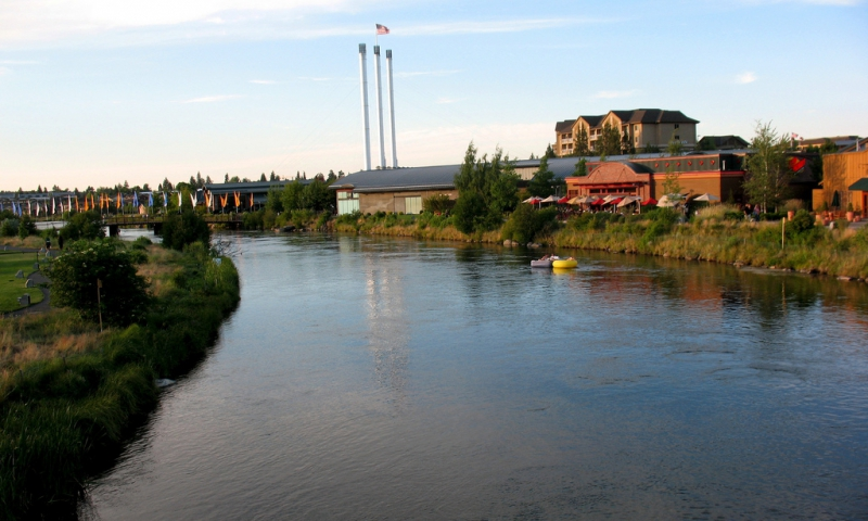 Bend OR Old Mill District