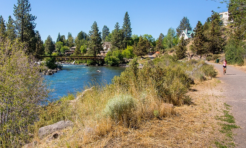Bend Urban Trail in Bend Oregon