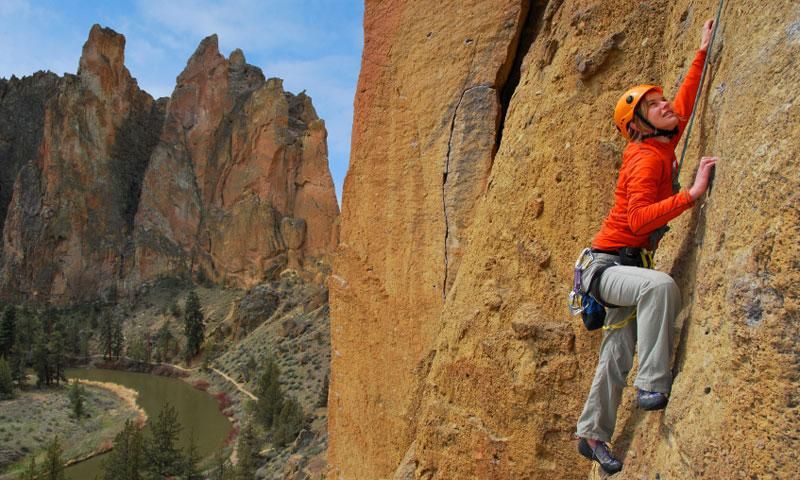 Climbing at Smith Rock State Park