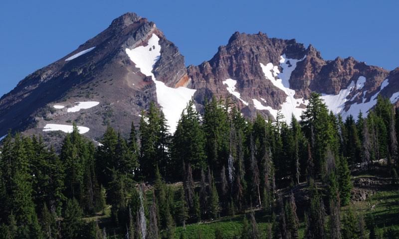Broken Top Mountain Oregon