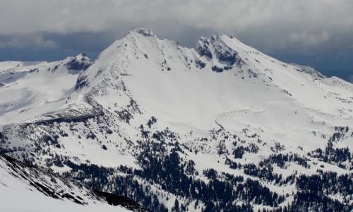 Oregon Broken Top Mountain