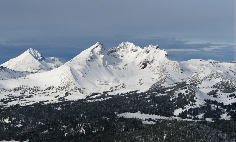 Broken Top Mountain in Oregon