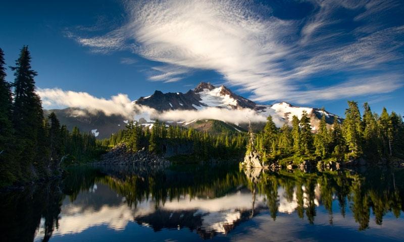 Cascade Mountains Oregon Cascades Range Alltrips