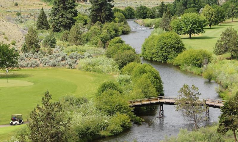 Kah-Nee-Ta Golf Course near Bend Oregon