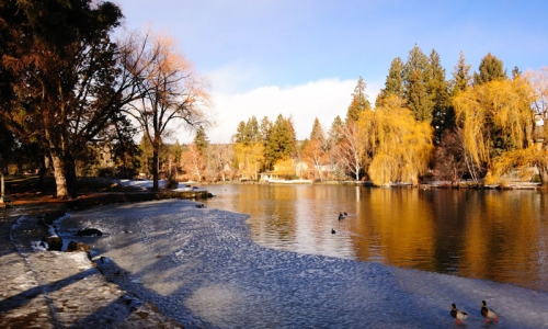 Deschutes River Bend Oregon Drake Park
