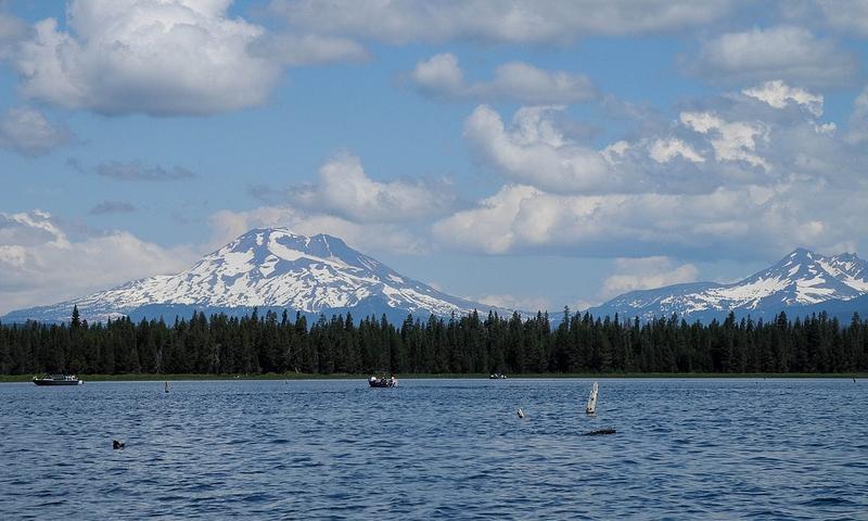 Crane Prairie Reservoir Oregon Fishing, Camping, Boating - AllTrips