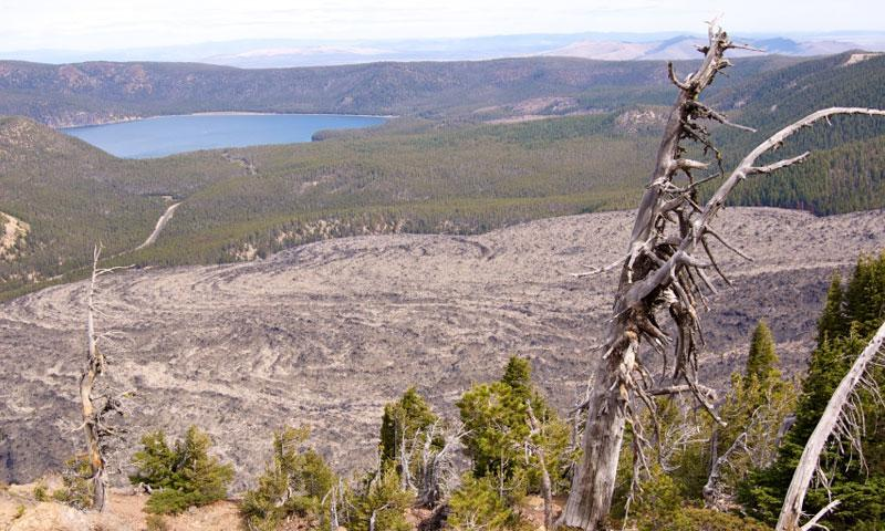 East Lake in Newberry Volcanic Monument