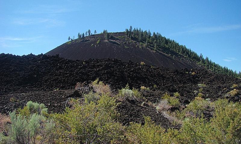 Lava Butte in Oregon