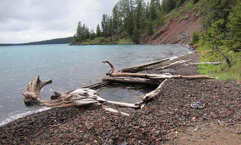 Paulina Lake Oregon Hot Springs Alltrips