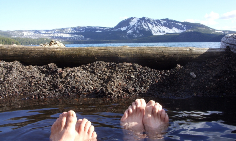 Paulina Hot Springs at the Newberry Volcanic Monument