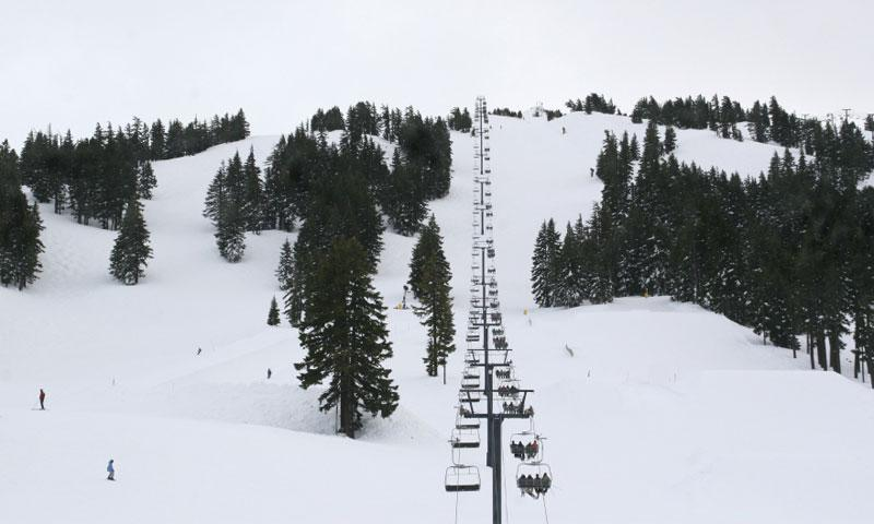 Chair Lift at Mount Bachelor
