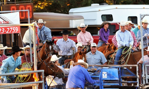 Deschutes County Oregon Rodeo