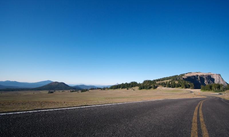 Rim Drive around Crater Lake National Park