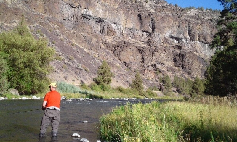Crooked River Gorge Fishing