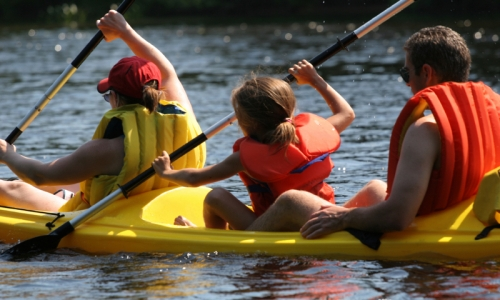 Bend Oregon Kids Canoeing