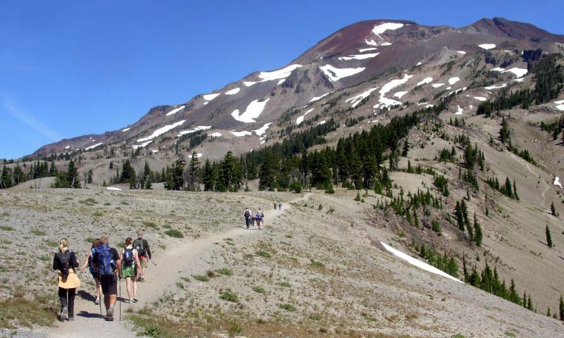 Hiking the South Sister