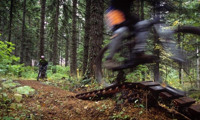 Mountain Biking in Hood River