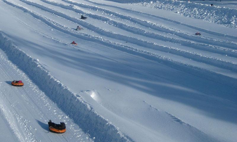 Tubing at Mount Bachelor in Central Oregon